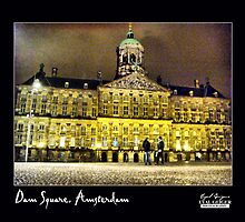 Dam Square by Eyal Geiger