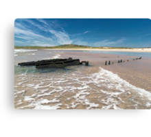 Islay: The Wreck Canvas Print