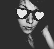 Love Glasses by Madalina Simona