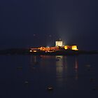 St Aubin's Fort at Night by Rachael Lynch