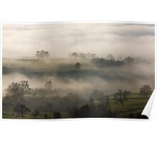 Fog in the Vale of York Poster