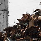 Scrap Pile by Donna Adamski