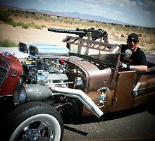 "Rat Rod Roadster "" Unexpected Surprise "".. by Rita  H. Ireland"