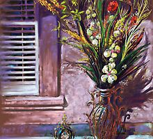THE VASE by CustomCanvasART