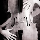 Naked cello by Trish O'Brien