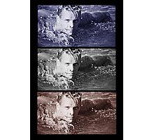 swimming man Photographic Print