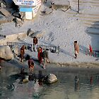 By the Ganges, Rishikesh by Harry Oldmeadow