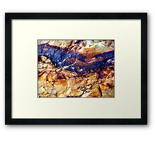 Black Rock Mountain Framed Print
