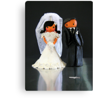 CHUNKIE Wedding Canvas Print