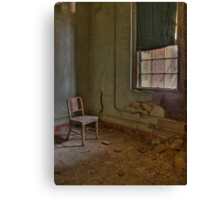 Rusted Chair Canvas Print