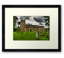 Holy Trinity - Coverham,Yorkshire Dales Framed Print