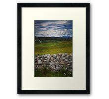 High Lands Framed Print
