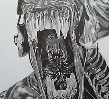 Alien Queen by Courtney Pretlove