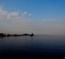 Panoramic view of Acitrezza from Aci Castello by Andrea Rapisarda