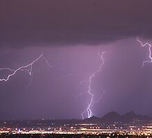 Lightning Monsoon N. Scottsdale by Bo Insogna