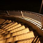 Stairway To The Walkbridge by Joe Powell