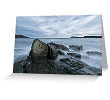 Cloudy Bay, Bruny Island, Tasmania Greeting Card