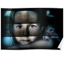 blinds with glass Poster