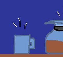Coffee Pot & Mug by monica98