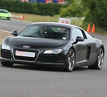Driving the Audi R8 by bubblemonkey