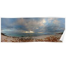 Mettams Pool Beach (Multi Row Panorama)  Poster