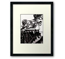 Guts The Black Swordsman  Framed Print