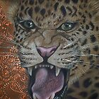 Leopard Attack by Cherie Roe Dirksen