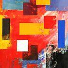 Abstract Squares #3 by Lisa V Robinson