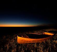 Life is like a boat by Garry Schlatter