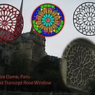 Notre Dame Rose Window Evolution by Keith Richardson
