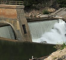 Diversion Dam below Gibson Dam by Donna Ridgway