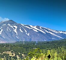 Panoramic Etna. by Steve plowman