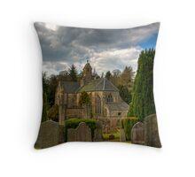 Mid Calder Church Throw Pillow