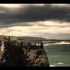 Approaching Storm at Dunluce Castle by panALsonic