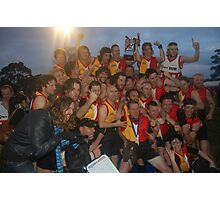 Espy Rockdogs 2009 Community Cup winners Photographic Print