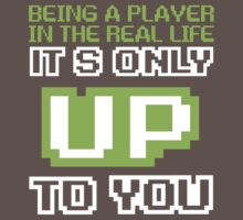 being a player in the real life it's only up to u by hdklou