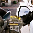 parking meters in melbourne by Andy Bulka