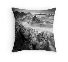 Jagged, Tarkine Coast, Tasmania Throw Pillow
