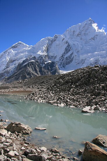 Nuptse Reflected by Richard Heath