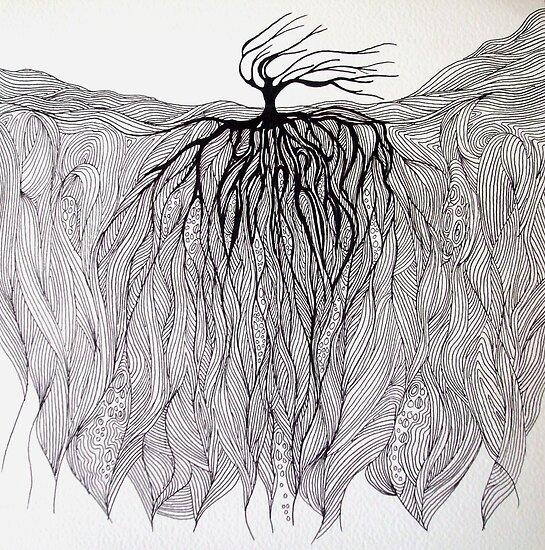 Line Landscape by Katie Grubb