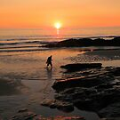 Cornwall: A Paddle at Sunset by Rob Parsons