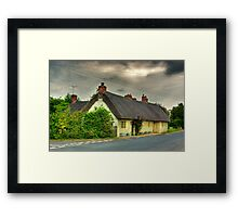 Thatched Country Cottage - Harome Framed Print