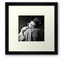 Dream little boy Framed Print