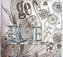 Blue by Gudrun Eckleben