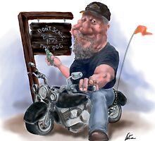The biker bar by cdedmon