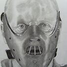 Hannibal Lecter by Courtney Pretlove