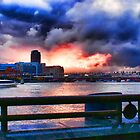 Sunset on the Thames by Wendy Anderson