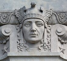 Architectural Detail from the War Memorial, Jackson, Mississippi by Carol M.  Highsmith