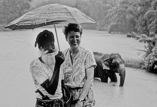 In  the   Rain 、Sri Lanka by yoshiaki nagashima