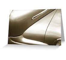 Classic Car 61 Greeting Card
